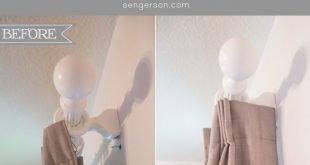 2 Tipps zum Aufhängen von Gardinen und Vorhängen wie bei einem Designer