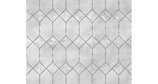 """24 """"W x 36"""" L Textured Old English Datenschutz / Dekorative Statisch haftende Fensterfolie"""