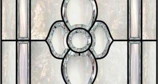 Abschrägungsfenster 4 Faux Privacy Glasmalereien und Fensterfolien
