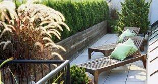 Balkon und Dachgarten