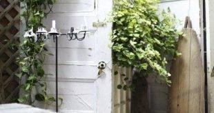 Brauchen Sie Ideen für den Hinterhof? DIY-Garten-Sichtschutz