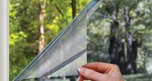 Gila Privacy Mirror Adhesive Residential DIY Fensterfolie Wärmesteuerung Blendschutz 3ft x 15ft (36 Zoll x 180 Zoll)