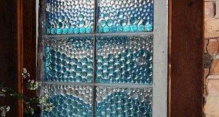 Sichtfenster für mein Bad gemacht ... meine Freundin hat dieses schöne Fenster gemacht. Sie ist so talentiert.