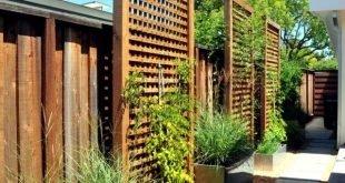 Sichtschutzzaun in -23 Gartenideen zum Schutz der Privatsphäre Mehr