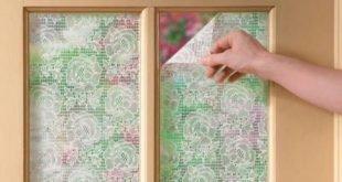 4 einfache Schritte zum Selbermachen eines Lace Privacy Fensters