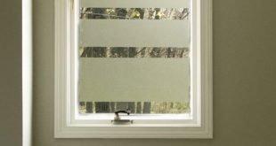 Fügen Sie dem Badfenster mit diesem DIY Datenschutz hinzu