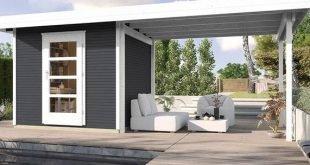 Bauen Sie einfach selbst ein Gartenhaus