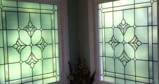 Bradham Bevel Window Privacy Fensterfolie