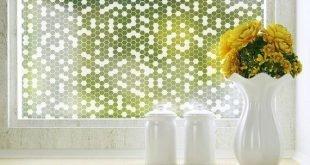 Honeycomb Privacy Window Film - Standard 36 Zoll x 48 Zoll