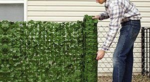 Imitat-Grün-Außenschutz-Panels
