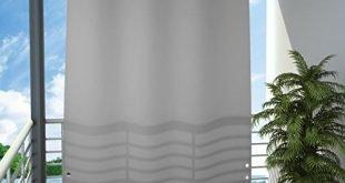 Seitlicher Balkonschutz Balkon Bildschirm Datenschutz ... www.amazon.de / ...