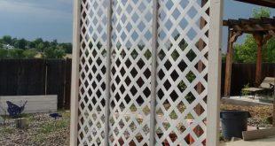 Gitter Sichtschutz Pflanzer