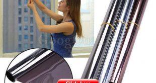 $ 2.73 - Reflektierende Spiegel Privatsphäre Home Badezimmer Fensterglas selbstklebende Folie ...