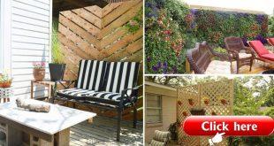 26 DIY Garden Datenschutz-Ideen, die erschwinglich und unglaublich sind