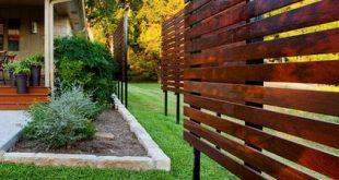 37 Stilvolle Zaunvorstellungen für den Außenbereich