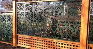 6 aufregende coole Tipps: Grüner Bambuszaun-Zaun aus Beton. Vinylzaun-Schiene ...