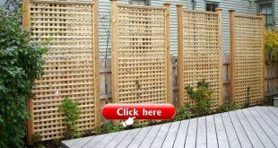 90 kühle hölzerne Sichtschutzzaun Design für zu Hause Hinterhof