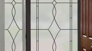 Allure Bleiverglasung | Privacy Window Film (Static Cling)