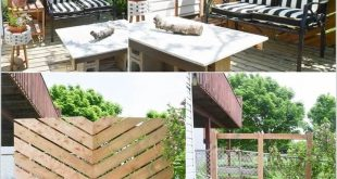 Awesome DIY Outdoor Privacy Screen Ideen mit Bild - #makeaoutdoorprivacyscre ...