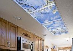 Bringen Sie überall in Ihrer Wohnung eine Himmelsansicht.