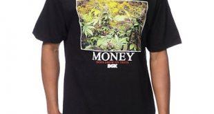 DGK Money Trees Schwarzes T-Shirt