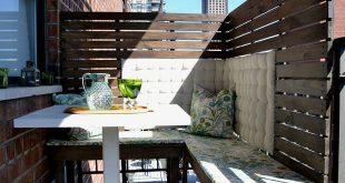 DIY Privacy Panels für einen kleinen Balkon