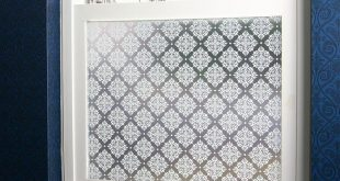 Damask Privacy Window Film