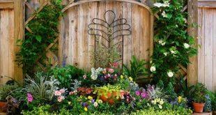 Deko-Inspiration hinter Hochbeet im Kräutergarten machen ganze ...