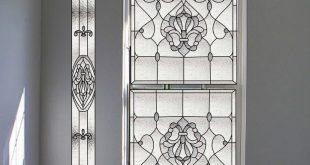 Dekorative Fensterfolie Glasmalerei | Rubinaccio, J Glasmalerei Dekor ...