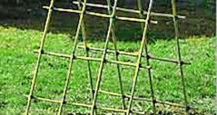 Ein Bambusgitter bauen