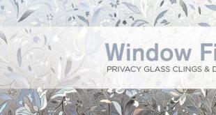 Fensterfilm | Fenster Dekorfolie | Privacy Window Film