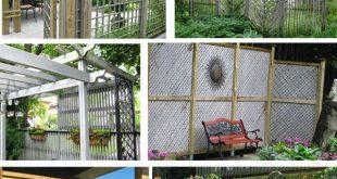 Gartenzaun & Bildschirm Privatsphäre Ideen