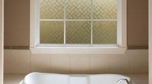 Gila, 36 Zoll, B x 78 Zoll, H-Blickschutz Frosted Tile Window Film