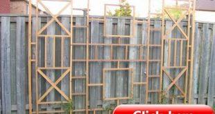 Holen Sie sich die Privatsphäre eines wunderschönen Hinterhofs, ohne einen Zaun aufstellen zu müssen - und die Herstellung dauert nur 2 Stunden!