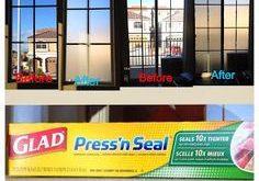 Machen Sie eine billige und einfache, vorübergehende, durchsichtige Sichtfensterabdeckung von der Presse ...