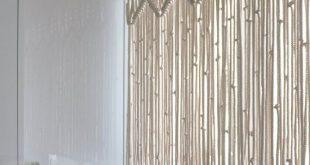 Makramee Küche Vorhang benutzerdefinierte kurze Makramee Wand hängen Hollywood Regentschaft rustikale Schürze böhmischen Boho Chic eklektischen Dekor 70er