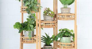 Penelope Screen Rattan Pflanzer #Möbel #Pflanzenständer #Pflanzer