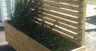 Perfekt für den Pflanzer für den Privatbereich ... Denken Sie daran, dass die Pflanzseite in Richtung Su ...