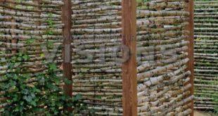 Schuppenpläne - Schuppenpläne - Mit der Birke nach oben und unten anstatt von Seite zu Seite ...