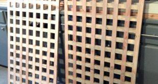 So bauen Sie hausgemachte Holz Sichtschutzfolien DIY