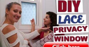 Wie man jedem Fenster ohne Vorhänge oder Jalousien Privatsphäre verleiht