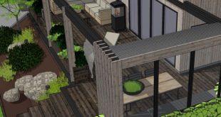 >>> Streichen Sie >>> für ein paar Bilder vor und ein bisschen mehr von diesem Terrassenentwurf.  ...