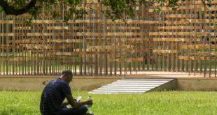 2016 Triumph Pavilion im Museum Gardens in London enthüllt