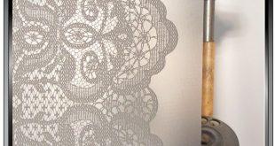 $ 37.39 Spitzenvorhänge - DIY dekorative Sichtschutzfolie