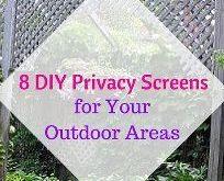 8 DIY Privacy Screens für Ihre Außenbereiche