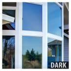 BuyDecorativeFilm 60 in. X 50 ft. Prbl Premium Blue Color Wärmekontrolle und Sichtschutzfolie für tagsüber, Blau (außen) / Silber (innen)