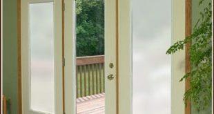 Für die kleinen Fensterscheiben an unserer Tür ... damit wir das nicht benutzen müssen ...
