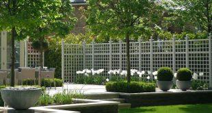 Garden Designs Ideas 2018: Wunderschöne portugiesische Kalksteinterrasse mit ...