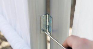 Herstellen eines Sichtschutzes für den Außenbereich aus PVC-Rohren