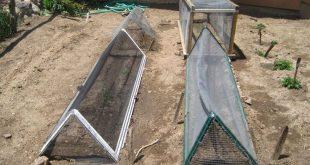 Kleines Haus in Colorado: DIY Hagelschutz für den Garten